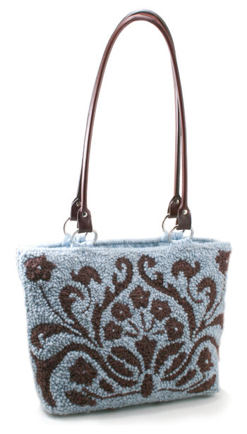 Multi-Craft patterns Small Toile Tote Pattern Only- Punch Needle