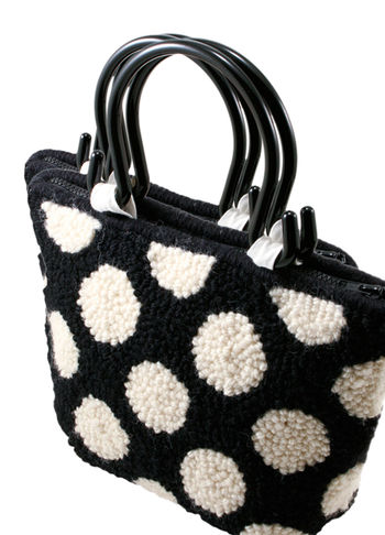 Multi-Craft patterns Polka Dot Purse Pattern Only- Punch Needle