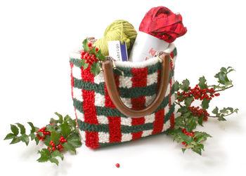 Rug Making patterns Basket Weave Purse