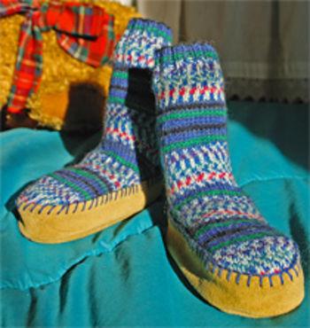 """Multi-Craft equipment Suede Leather Slipper Soles  (4"""")"""