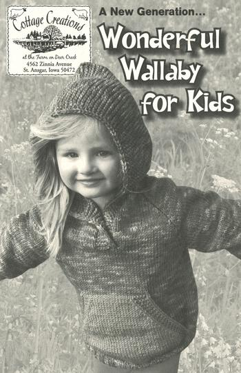 Knitting books A New Generation... Wonderful Wallaby for Kids