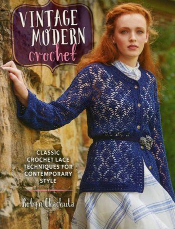 Crochet books Vintage Modern Crochet