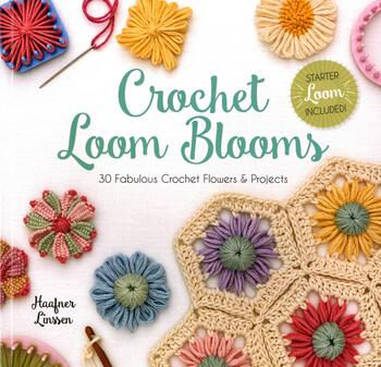 Crochet books Crochet Loom Blooms