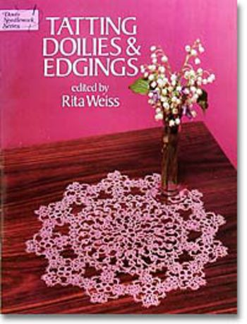 Bobbin Lace and Tatting books Tatting Doilies and Edgings