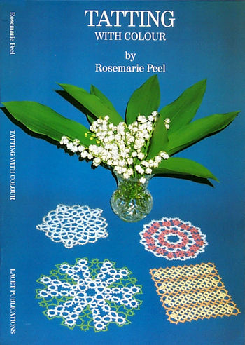 Bobbin Lace and Tatting books Tatting With Colour