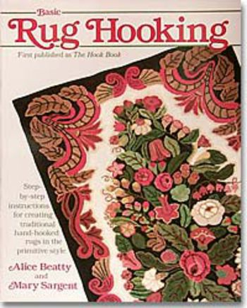 Rug Making books Basic Rug Hooking (Beatty and Sargeant)