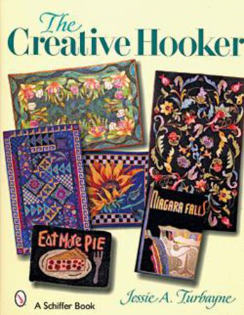 Rug Making books The Creative Hooker