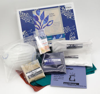 Dyeing kits Earthues: Indigo Starter Natural Dye Kit