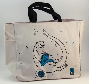 Multi-Craft equipment Otter Project Tote by Mum n Sun Ink
