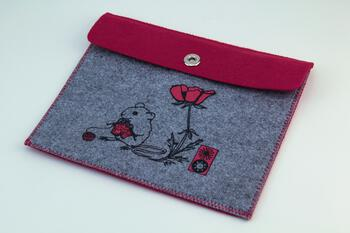 Multi-Craft equipment Mouse Felt Accessory Pouch by Mum n Sun Ink