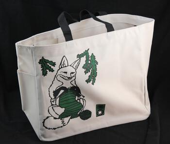 Multi-Craft equipment Fox Project Tote by Mum n Sun Ink