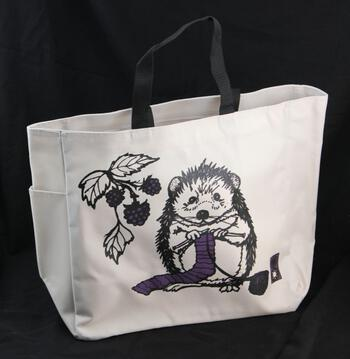 Multi-Craft equipment Hedgehog Project Tote by Mum n Sun Ink