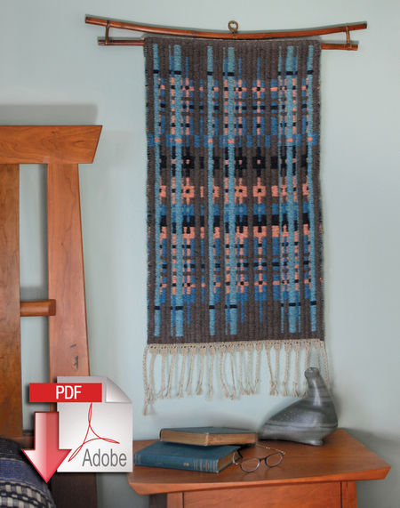 Weaving patterns Northern Colors Bound Weave - Pattern download