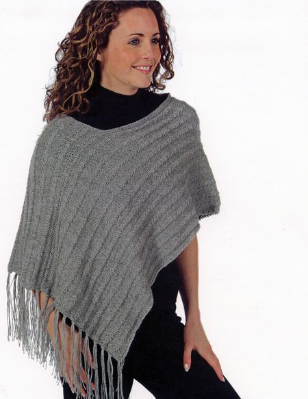 Knitting patterns CLEARANCE -Alpaca Prima Lace Poncho