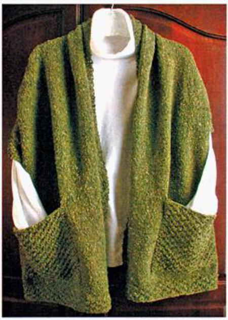Readers Wrap, Knitting Pattern - Halcyon Yarn, Quality and Value for Fib...