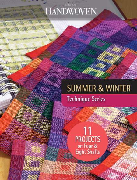 Weaving books Best of Handwoven: Technique Series - Summer and Winter - eBook Printed Copy