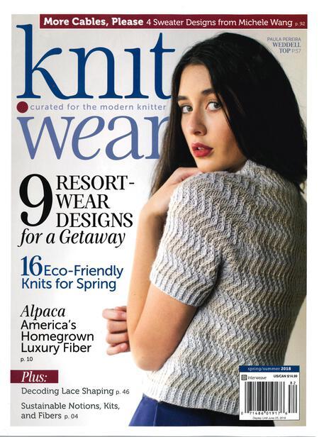 Knitting magazines Knit Wear - Spring/Summer 2018