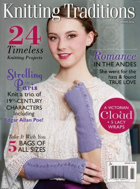 Knitting magazines Knitting Traditions Spring 2016