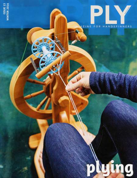 Spinning magazines Ply - The Magazine for Handspinners - Plying - Winter - Issue 15