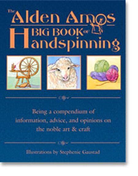 Spinning books Alden Amos Big Book of Handspinning