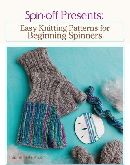 Spinning books Spin-Off Presents: Easy Knitting Patterns for Beginner Spinners - eBook Printed