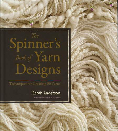 Spinning books The Spinners Book of Yarn Designs: techniques for creating 80 yarns