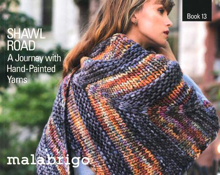 Knitting books Malabrigo Book 13 - Shawl Road