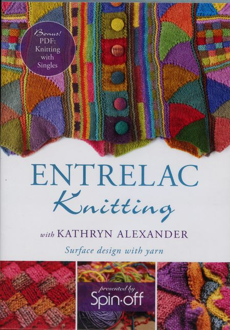 Knitting cd-dvd DVD Entrelac Knitting