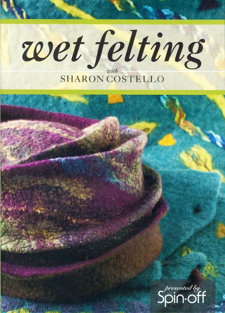Felting cd-dvd DVD Wet Felting