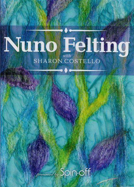 Felting cd-dvd DVD Nuno Felting
