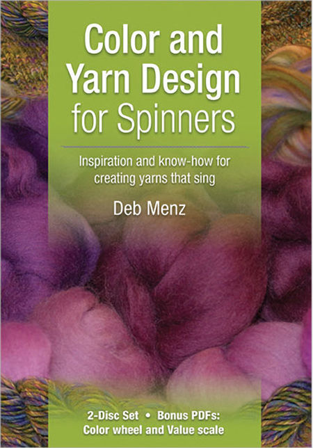 Spinning cd-dvd DVD Color and Yarn Design for Spinners
