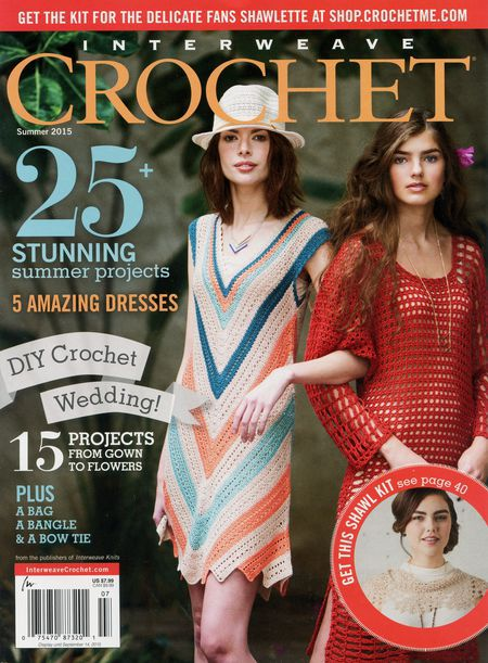 Crochet magazines CLEARANCE Interweave Crochet Summer 2015
