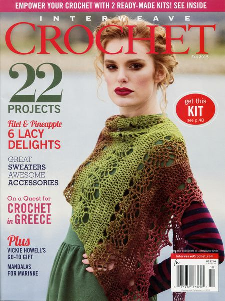 Crochet magazines CLEARANCE Interweave Crochet Fall 2015