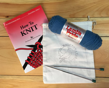 Knitting--101:--Begin--to--Knit--Class--(Cowl--Project)