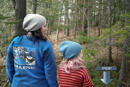 Knitting Patterns Whale Watch Beanies - Pattern download