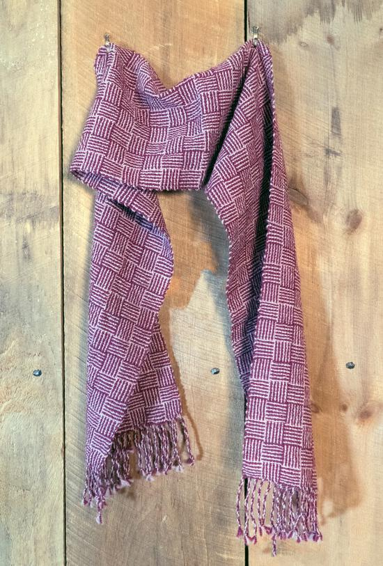 Weaving Patterns Rivers and Roads - Woven Scarf