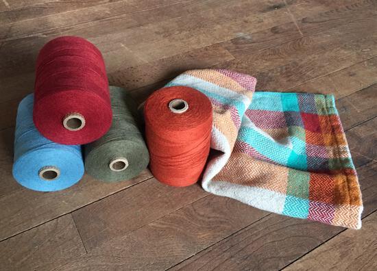 Weaving Patterns Organic Cottolin Tea Towel Pattern