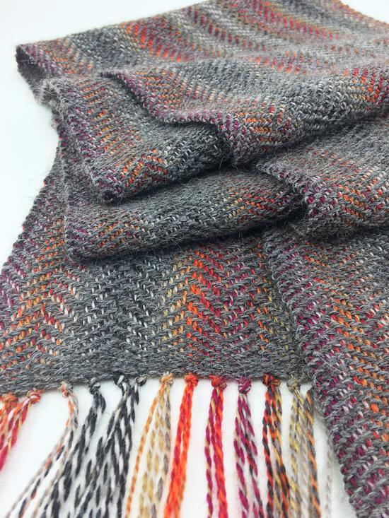 Weaving Patterns Oktoberfest - Woven Scarf Pattern Download
