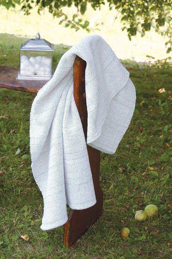 Weaving Patterns Woven Bath Sheet
