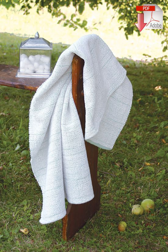 Weaving Patterns Woven Bath Sheet -Pattern download