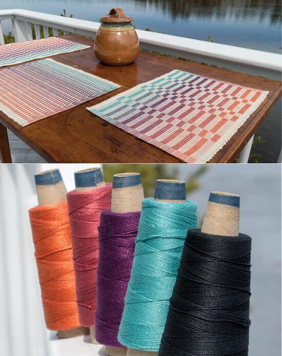 Weaving Kits Lovely Day Rep Weave Kit Color: Southwest