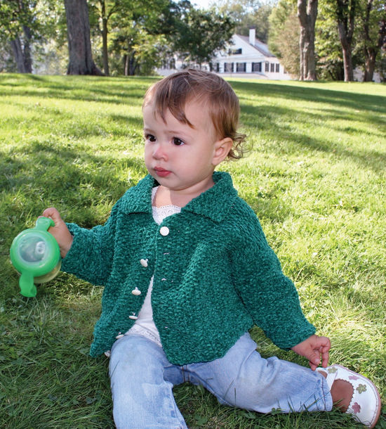Knitting Patterns Ellen's Favorite Baby Sweater