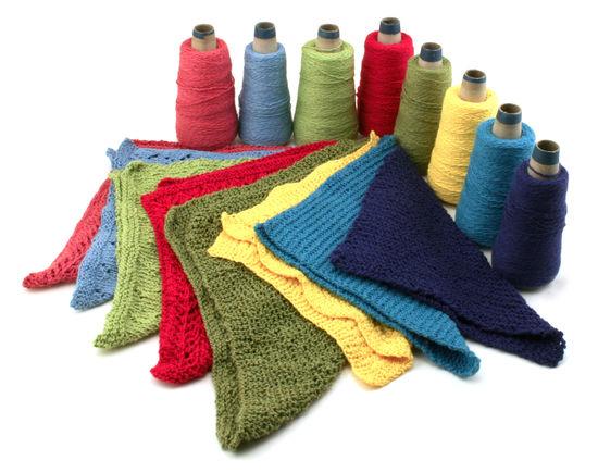 Knitting Patterns Washcloths / Dishcloths - Casco Bay Sport Cotton
