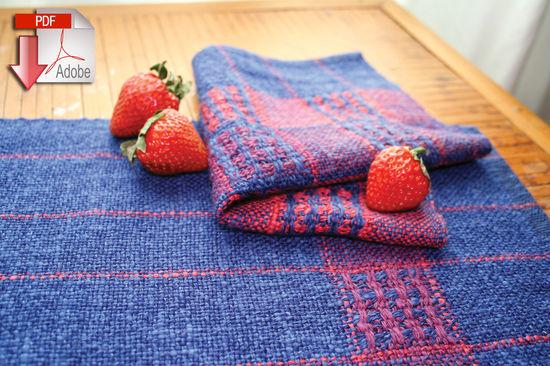 Weaving Patterns Seguin Sunset Table Set weaving pattern - Pattern download