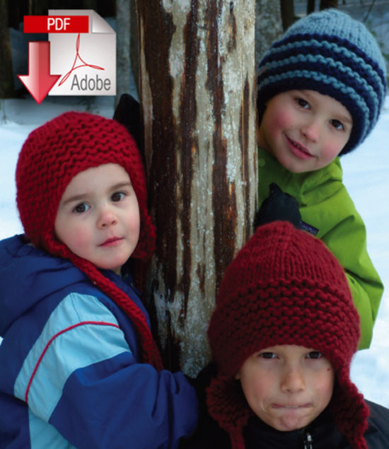 Knitting Patterns The Family Favorite Hat - Super Bulky Weight - Pattern download
