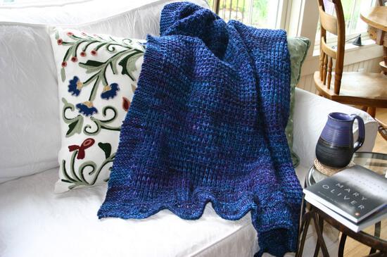Knitting Patterns Family Favorite Throw