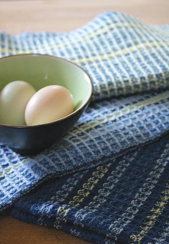 Weaving Patterns Waffle Weave Dish Towel Pattern - 8/2 Cotton
