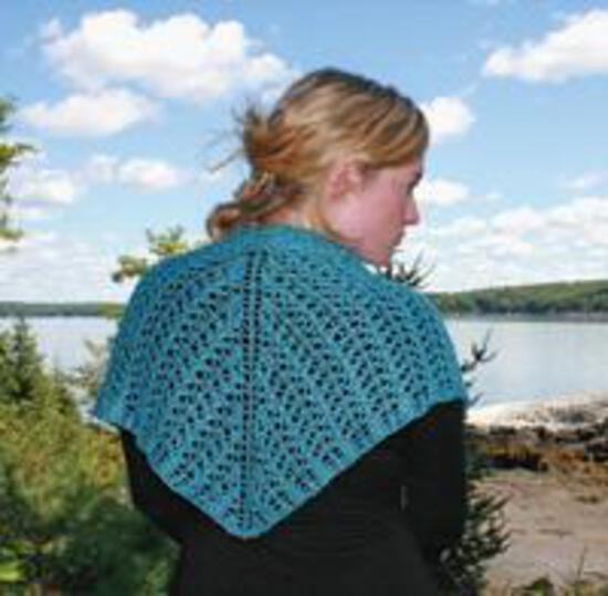 Knitting Patterns Little Arrowhead Shawl