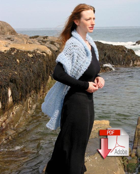 Crochet Patterns Victorian Boucle Crochet Stole - Victorian Boucle - Pattern download