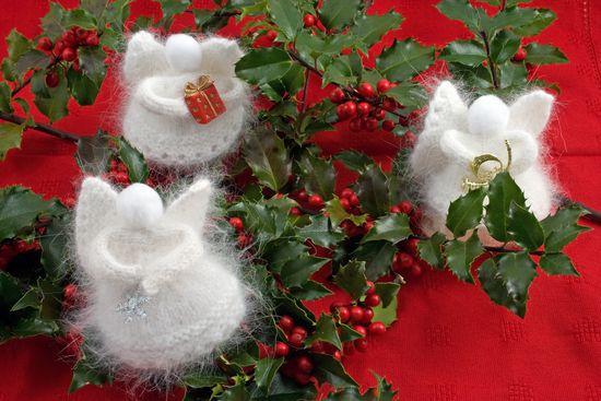 Knitting Kits Angora Snow Angels Kit